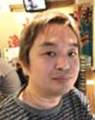 ボーダーシャツの男性戸田氏