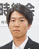 スーツの男性柳田氏